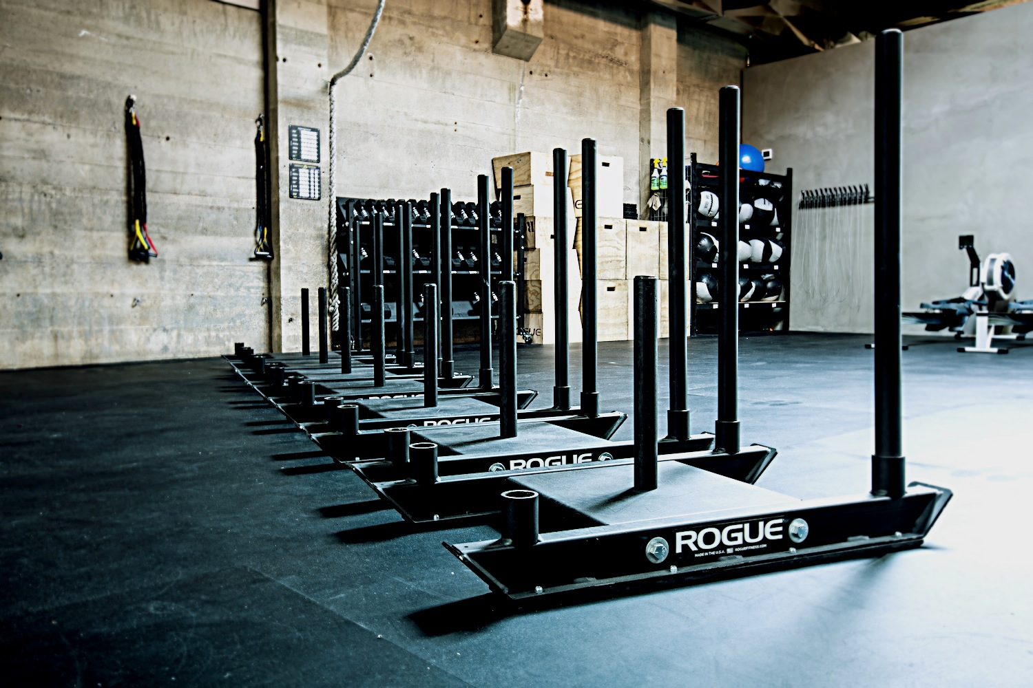CrossFit_604_downtown_rogue_sleds